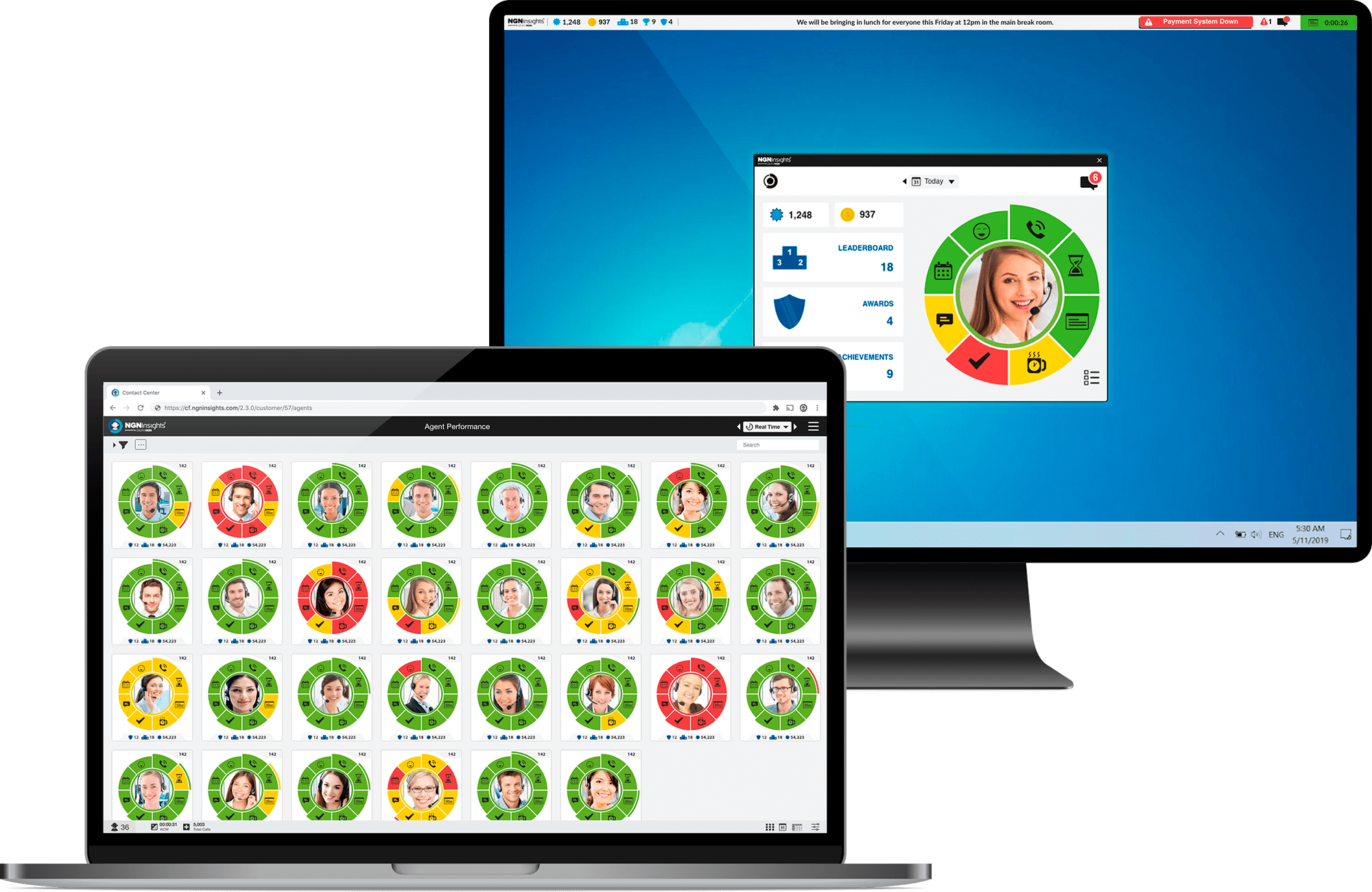 Gamification That Enhances Agent Performance and Agent Management
